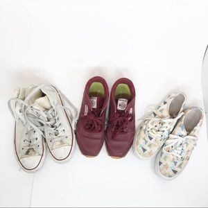 VANS Bundle of Pre-Loved Sneaker Trainers Shoes